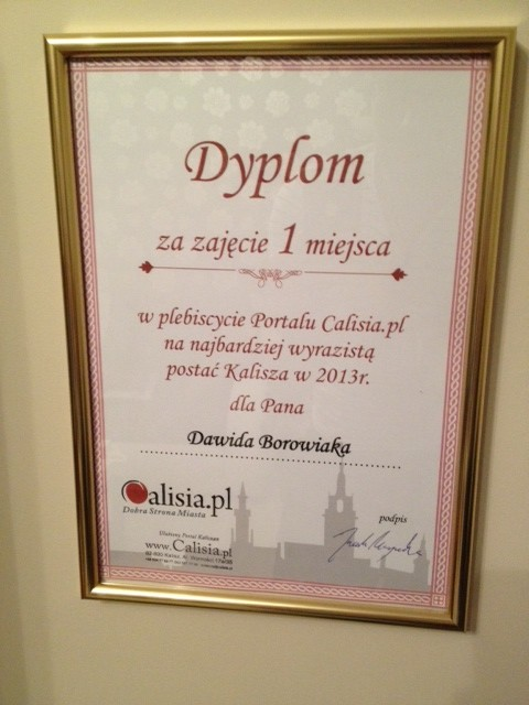 Dyplom Calisia Kalisz